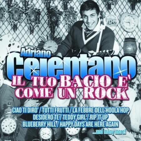 CD Adriano Celentano- il tuo bacio è come un rock - 8030615066087