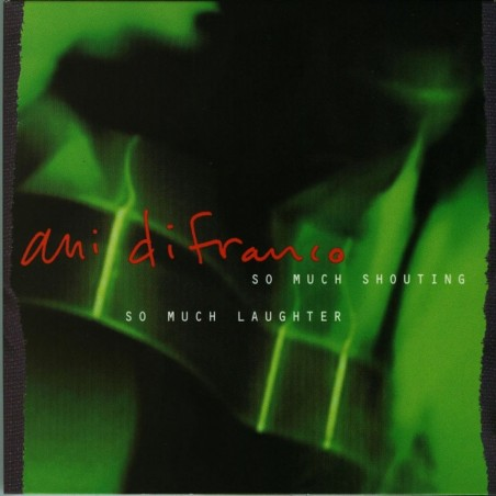 CD Ani Di Franco- so much shouting/ so much laughter