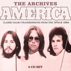 America - The Archives (4 Cd) - Audio Cd
