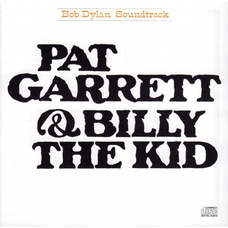 CD Bob Dylan- pat garrett & billy the kid