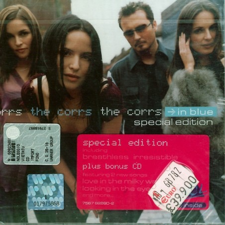 CD The Corrs- in blue SPECIAL EDITION