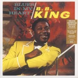 B.B. King-Blues in my heart gatefold sleeve (vinile LP - 2017-EU-original)