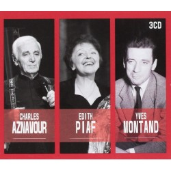 Aznavour/Piaf/Montand CharlesAznavour/Edith Piaf/Yves Montand (3 Cd) 3760039830593