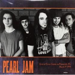 PEARL JAM - LIVE AT CIVIC CENTER IN PENSACOLA (2 LP) 1994