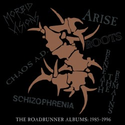 CD Sepultura - The Roadrunner Albums 1985-1996 6CD 081227944032