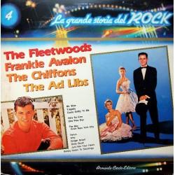 LP La Grande Storia del Rock 4 Fleetwoods, Frankie Avalon, Chiffons, Ad Libs NM