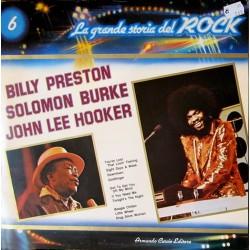 LP LA GRANDE STORIA DEL ROCK 6 BILLY PRESTON, SOLOMON BURKE, John Lee Hooker NM