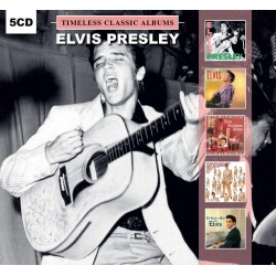 CD ELVIS PRESLEY - TIMELESS CLASSIC ALBUMS 5 CD 889397000219