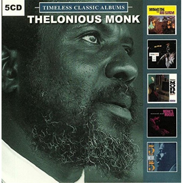 CD THELONIOUS MONK - TIMELESS CLASSIC ALBUMS 5 CD 889397000417