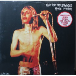 LP IGGY POP AND THE STOOGES MORE POWER LIMITED COLORED VINYL
