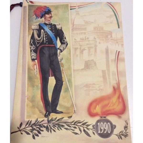 CALENDARIO DELL'ARMA DEI CARABINIERI 1990