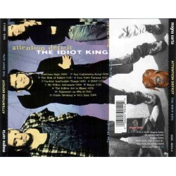 CD Attention Deficit- the idiot king 026245905429