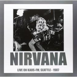 LP NIRVANA LIVE ON KAOS- FM...