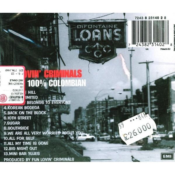CD Fun Lovin' criminals- 100% colombian 724382314028