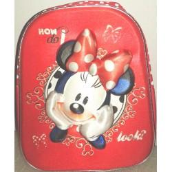Zaino asilo 3D Minnie Mouse