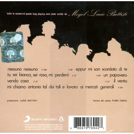 CD Formula 3 scritto da Mogol e Battisti Prodotto da Battisti 886979769427