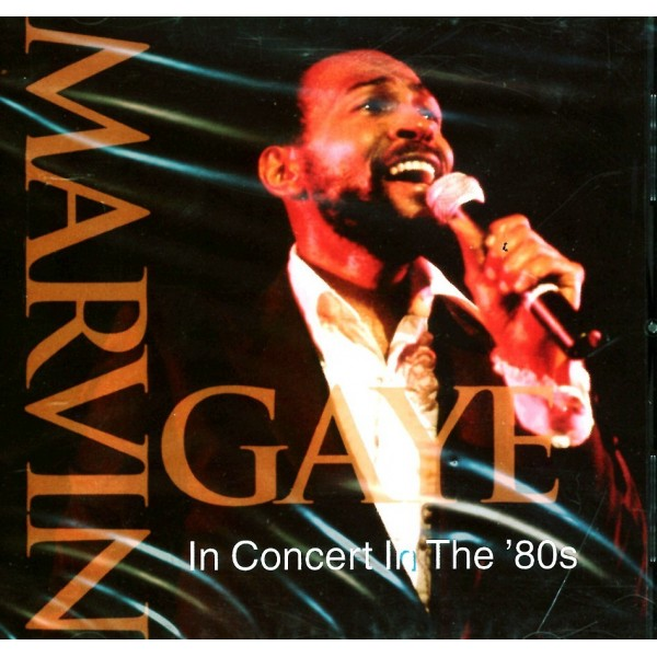 CD Marvin Gaye- in concert in the '80s