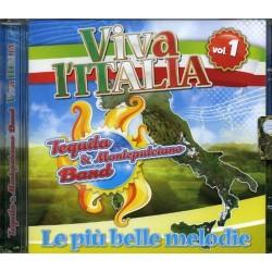 CD TEQUILA E MONTEPULCIANO BAND VIVA L'ITALIA VOL.1 9803014532731