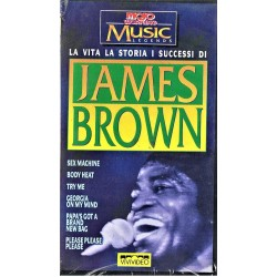 VHS JAMES BROWN LA VITA LA STORIA I SUCCESSI