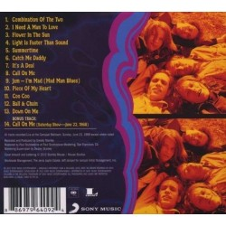 CD Big Brother & the Holding Company- live at the carousel ballrom 1968 886979640924