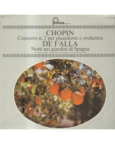 LP CHOPIN CONCERTO N.2 PER...