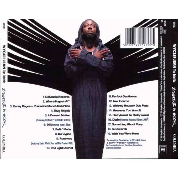 CD Wyclef Jean- the ecleftic 5099749797925