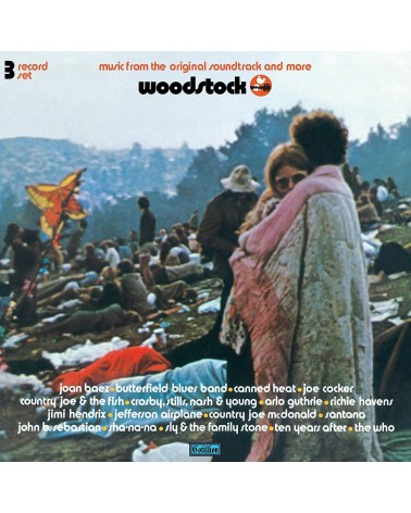 LP WOODSTOCK MUSIC FROM THE...