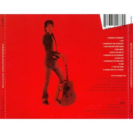 CD Mick Jagger- goddes in the doorway 724381128824