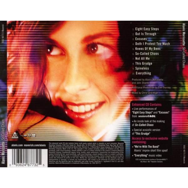 CD Alanis Morissette- so called chaos 093624855521