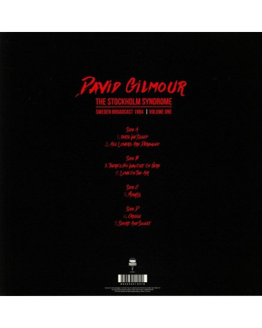 LP DAVID GILMOUR THE...