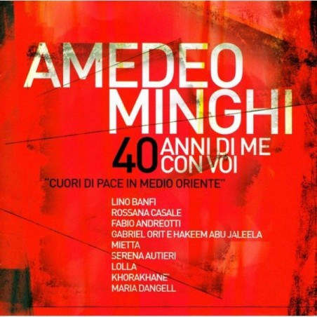 CD Amedeo Minghi- 40 anni di me con voi 8030615062195
