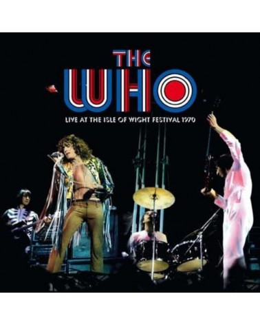 LP THE WHO LIVE AT THE ISLE...