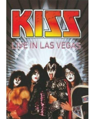 DVD KISS LIVE IN LAS VEGAS...