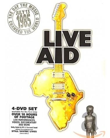DVD LIVE AID 13 JULY 1985...