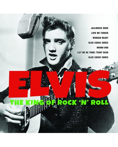 LP ELVIS THE KING OF ROCK...