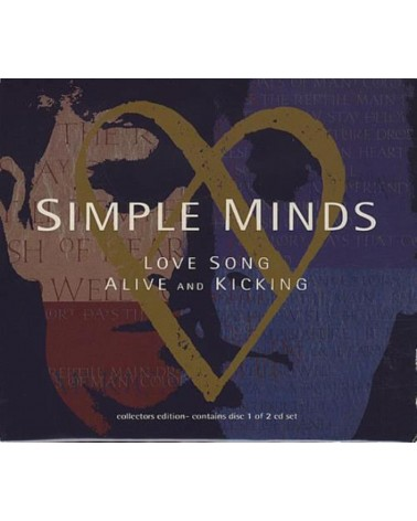 CD SIMPLE MINDS LOVE SONG...