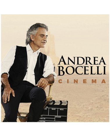 CD ANDREA BOCELLI CINEMA...