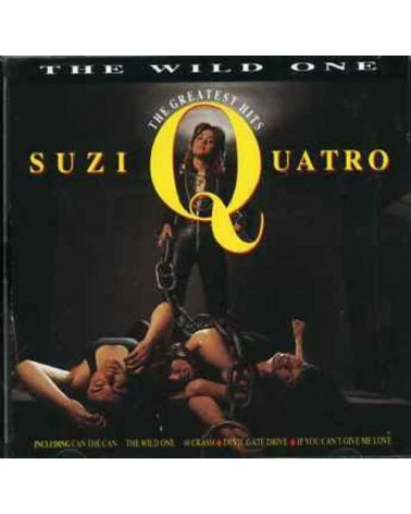 CD SUZI QUATRO THE WILD ONE...