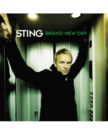 CD STING BRAND NEW DAY  A&M...