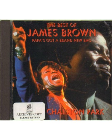 CD James Brown - THE BEST...