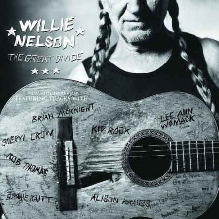CD Willie Nelson- the great divide 731458623120
