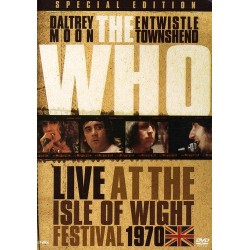 DVD THE WHO LIVE AT THE...