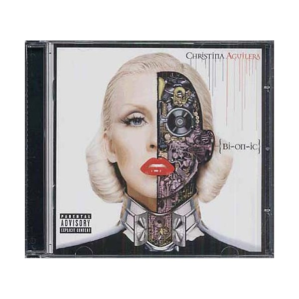 CD Christina Aguilera BIONIC 886976086725