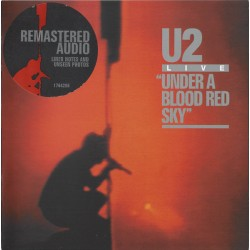CD U2 UNDER A BLOOD RED SKY...