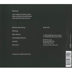 CD John Abercrombie Dave Holland Jack DeJohnette- gateway 602517762121