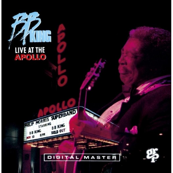 CD B.B. king- live at the apollo 602517655102
