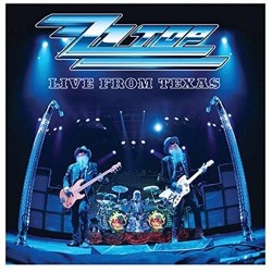 LP ZZ TOP LIVE FROM TEXAS...