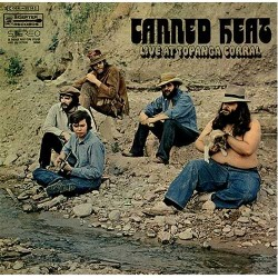 CD Canned Heat- Live at Topanga Corral Vintage