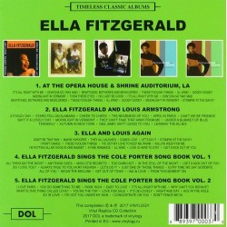CD ELLA FITZGERALD TIMLESS...