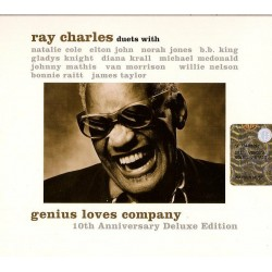 CD Ray Charles Genius love...